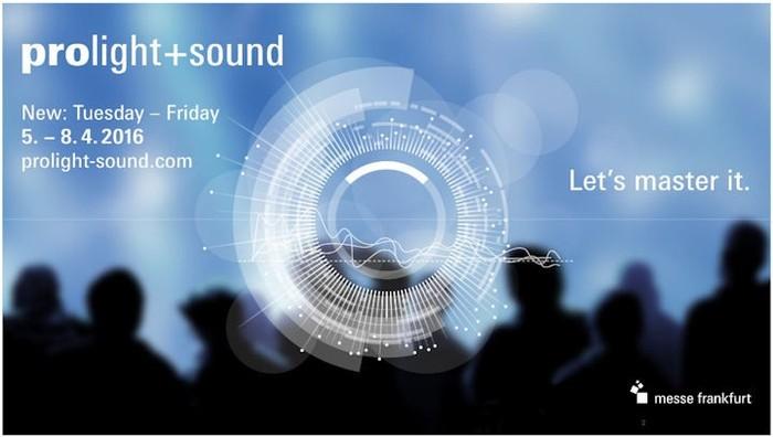 Prolight + Sound. Мы снова едем во Франкфурт!