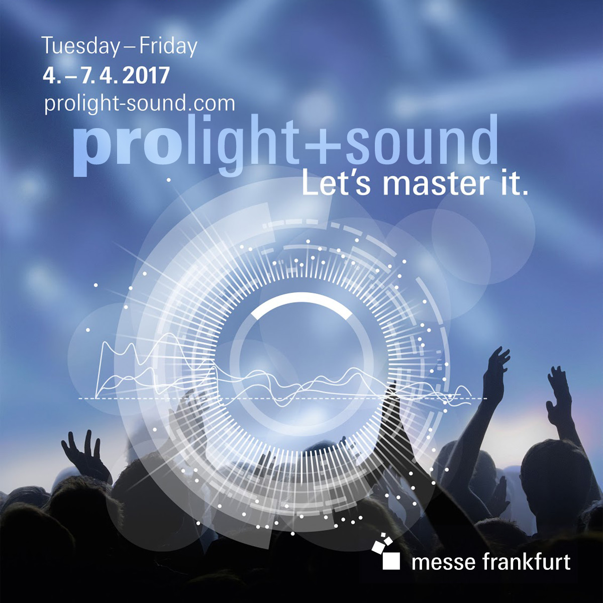 Мы едем во Франкфурт! prolight + sound 2017
